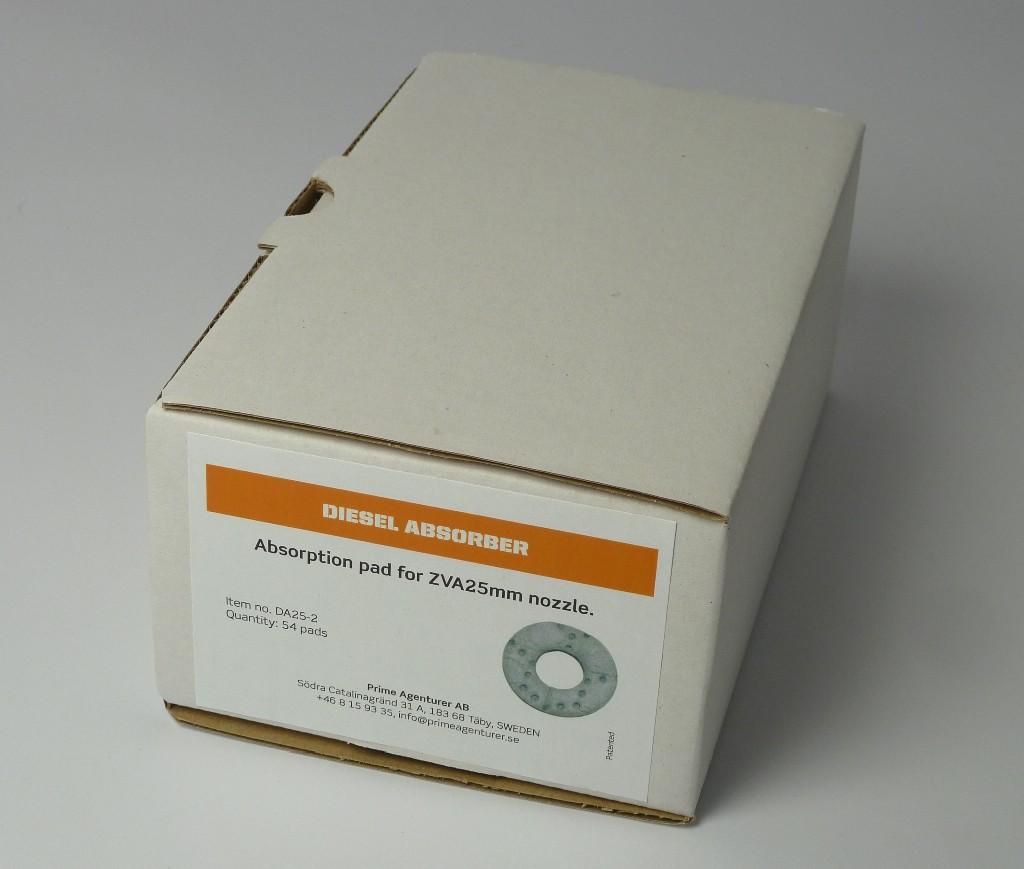 Caixa de 54 filtres d'absorció, vàlida per a DA-40